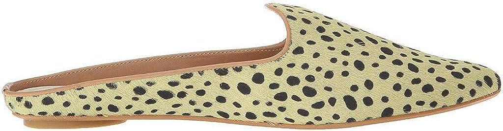 Mules for Women Low Heel Point Toe