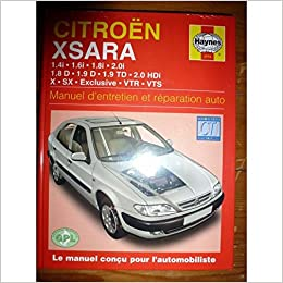 Citroen Xsara Essence ET Diesel (97 - 00) Hardcover – Import, January 2, 2002