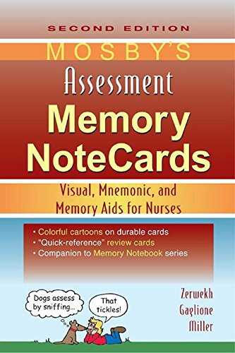 Mosby's Assessment Memory NoteCards: Visual, Mnemonic, and Memory Aids for Nurses Pdf