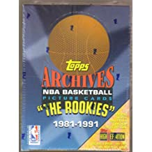 1993 Topps Archives Basketball The Rookies 1981-1991 Box of Card Packs