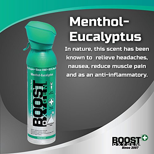 Boost Oxygen- 95% Pure Aviator's Oxygen- 5 liters by Boost Oxygen (Image #4)