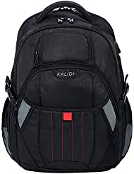 KALIDI Gaming Laptop Backpack 18.4 Inch with USB Charge Port, Waterproof Computer Bag Notebook Rucksack for Dell...
