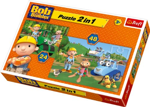 Trefl 2-in-1 Puzzle Together is Better Bob The Builder