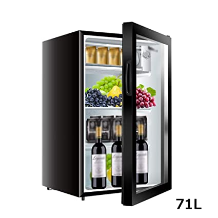 Amazon.es: WYJW 71l Mini refrigerador Nevera de Vino Negro Hogar ...