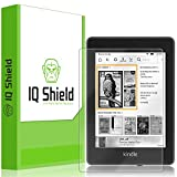IQShield Amazon Kindle Paperwhite Screen Protector, LiQuidSkin Full Coverage Screen Protector for Amazon Kindle Paperwhite (2018, 6') HD Clear Anti-Bubble Film