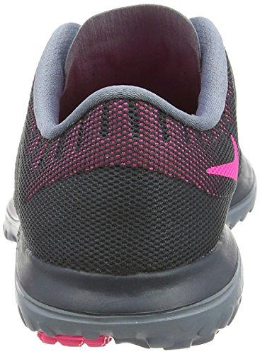 Nike Womens Fs Lite 2 Scarpa Da Corsa, Classico Carbone / Rosa Pow / Blu Grafite, 12 B (m) Us