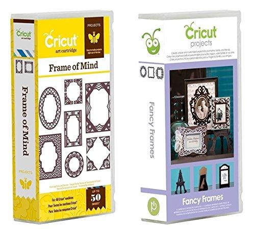 Cricut Cartridge Frames Bundled: Fancy Frames & Frames of Mind (Fancy Frames Cricut Cartridge compare prices)