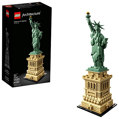 LEGO Architecture Statue of Liberty 21042 Building Kit (1685 Pieces) (Lego Architecture Building Set)