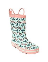 Trespass Childrens Girls Butterflie Waterproof Welly Boots
