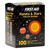 Best Adhesive Bandages - First Aid Children's Adhesive Bandages: Planets and Stars Review