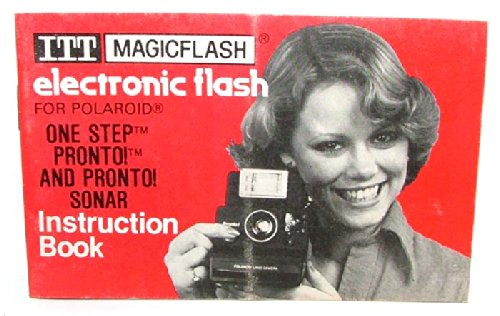 ITT Magicflash Electronic Camera Flash Instruction - Itt Flash