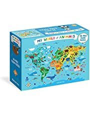 My World of Animals 36-Piece Floor Puzzle