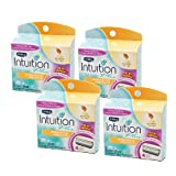 Schick Intuition Plus Cartridges, Soothing Moisture, Milk & Honey, 12 Cartridges