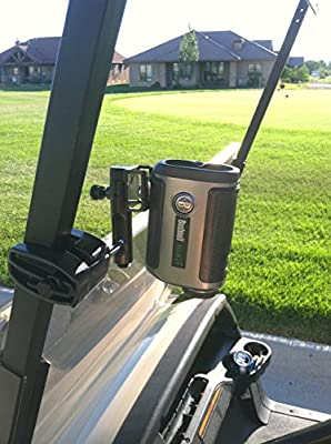 Caddie Buddy Golf Cart Mount/Holder for Laser Rangefinders. Strap Will fit All Lasers Bushnell