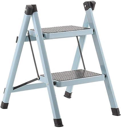 Linda taburete de paso de tijera multiusos de 2-Paso de pie de escalera / taburete de