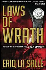 amazoncom laws of wrath 9780991655809 eriq la salle