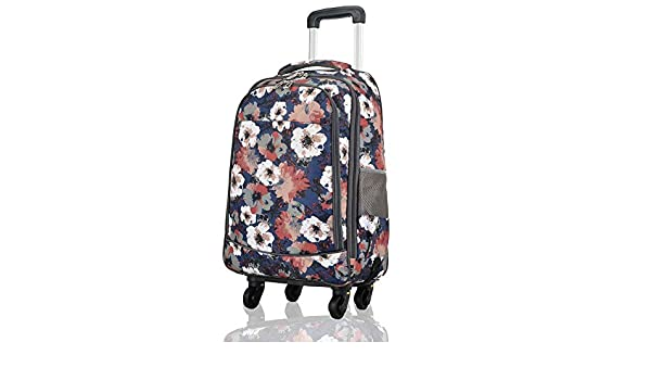 Color : Flower9, Size : 365923 Travel Bags Trolley Case 20 Inches Universal Wheel Boarding Baggage Luggage Suitcases Carry On Hand Luggage Durable Hold Tingting