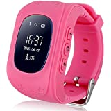 Q50 Kids 2G GSM Unlocked Smartwatch with GPS Tracking Pedometer, Sleep Monitor Alarm, Geofencing