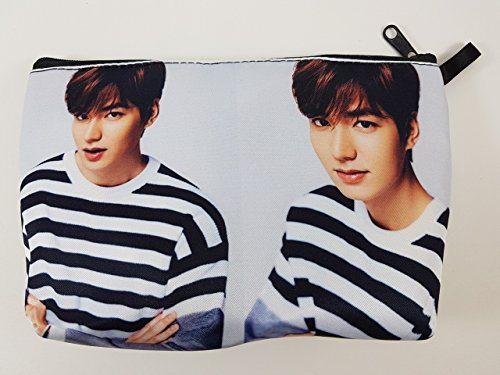 Price comparison product image LEE MIN HO Korean Actor BIG Zip Pen Pencil / Cosmetic Makeup Case Bag Pouch Stationery LEE-016