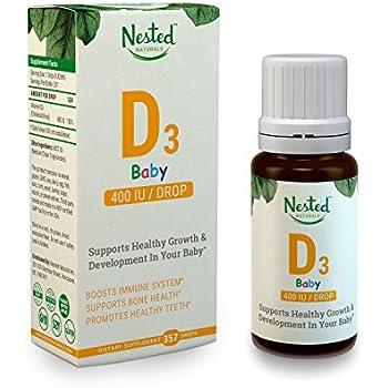 Amazon Com Nordic Naturals Baby S Vitamin D3 Vitamin D