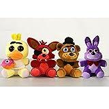 Five Nights At Freddy's 4 Kawaii Fnaf World Freddy Fazbear Bear Foxy Bonnie Chica Plush Stuffed Animal Kids Toys Peluche Doll 25CM