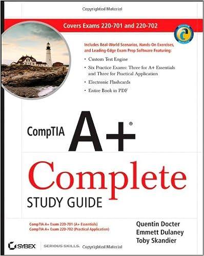 COMPTIA A STUDY GUIDE PDF 2015 EBOOK DOWNLOAD