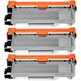 JARBO Compatible Toner Cartridges Replacement for TN660 TN-660 High Yield, 3 Black, Compatible with HL-2340DW HL-2380DW HL-2300D DCP-L2540DW DCP-L2520DW MFC-L2700DW MFC-L2740DW