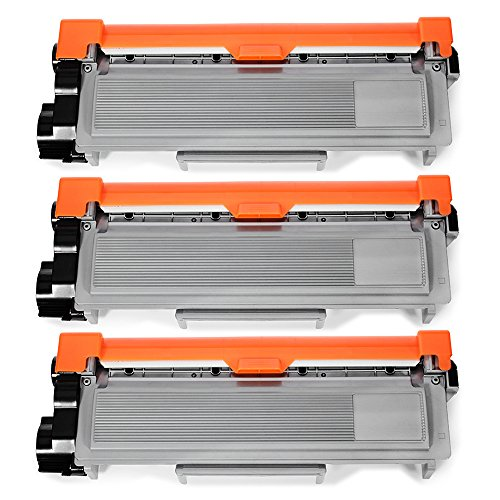 JARBO Replacement for Brother TN660 TN-660 Toner Cartridges High Yield, 3 Black, Use with Brother HL-2340DW HL-2380DW HL-2300D Brother DCP-L2540DW DCP-L2520DW Brother MFC-L2700DW MFC-L2740DW Printer
