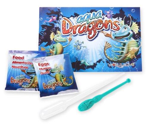 Aqua Dragons - Dragón de agua Mundo Submarino Juguete educativo World Alive W4004: Amazon.es: Juguetes y juegos