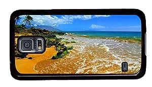 Hipster online Samsung Galaxy S5 Case beach maui PC Black for Samsung S5