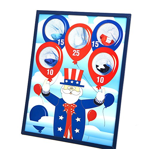 Fun Express Patriotic Bean Bag Toss Game by Fun Express