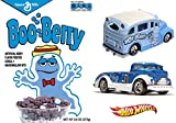 Boo Berry Hot Wheels Monster Cereal Box Set - Limited Edition SDCC School Busted & Truck Pop Culture Mig Rig General Mills