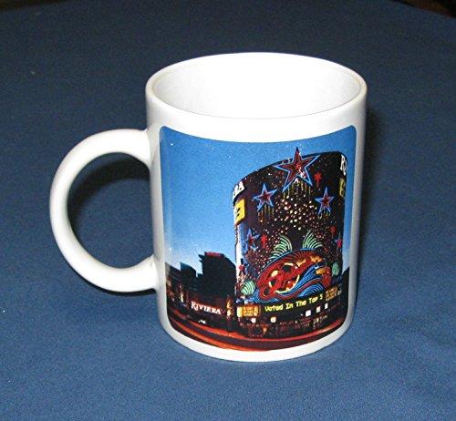 Riviera Casino Las Vegas(Now Closed) Mug/Coffee Cup-Early 2000's Closed Las Vegas Casino