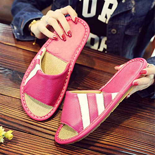 Wall Outdoor Shoes Slippers nbsp; Pink Slippers Night amp; men's Slip Indoor women's Comfortable Slippers nbsp;house onleather SgWawdxa6q