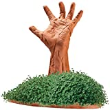 Handmade Chia Pet Zombie Arm Figure Pottery Planter w/ Seeds For 3 Plantings