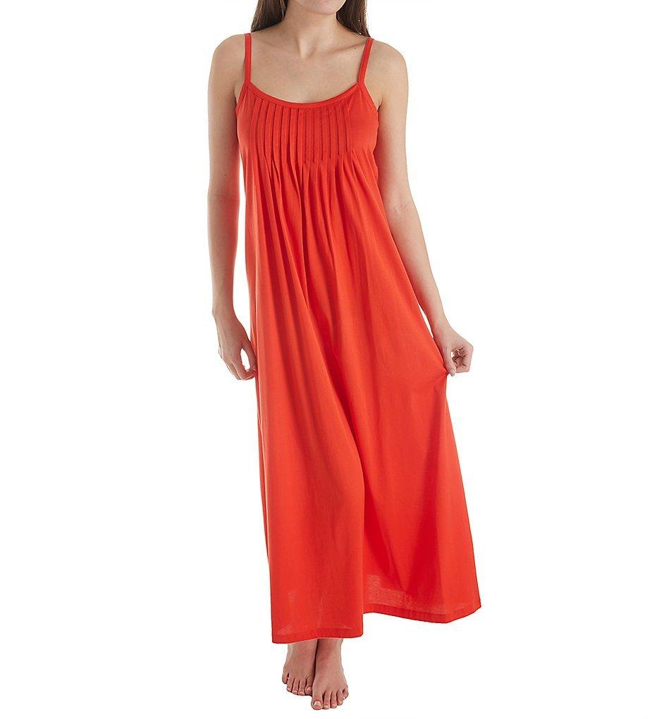 HANRO Women's Juliet Chemise, Orange/Red, Small by HANRO (Image #1)