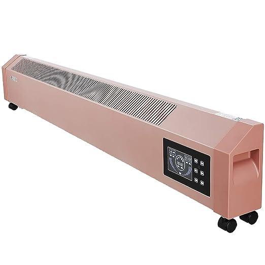 JF A Calentador de Panel de zócalo eléctrico silencioso a ...