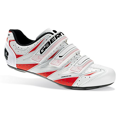 Gaerne Avia Chaussures de route Blanc/rouge EU 46