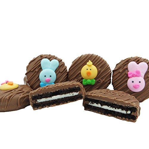 Philadelphia Candies Milk Chocolate Covered OREO® Cookies, Easter Faces Assortment Net Wt 8 oz
