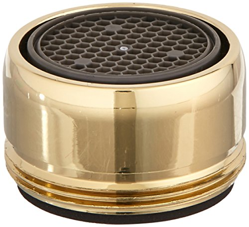 Delta Faucet RP18508PB Aerator for 2.2 GPM, Polished Brass by DELTA FAUCET (Image #1)