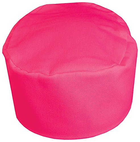 (Fame Adult's Bakers Pill Box Hat -Raspberry-O/S)