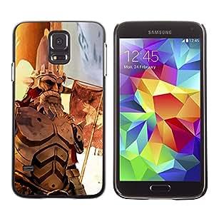 EJOY---Cubierta de la caja de protección la piel dura para el / Samsung Galaxy S5 / --Guerra héroe de edad
