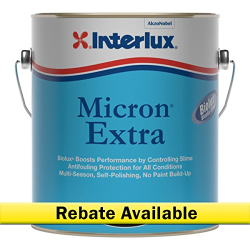 (Interlux Y5690/1 Micron Extra Antifouling Paint (Blue), 128. Fluid_Ounces )