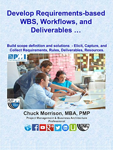 Workflow U0026 WBS: Develop Requirements Based Deliverables: Build Scope  Definition And Solutions