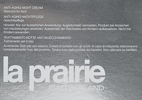51d7pkP3rqL - La Prairie Anti-Aging Night Cream for Unisex, 1.7 Ounce