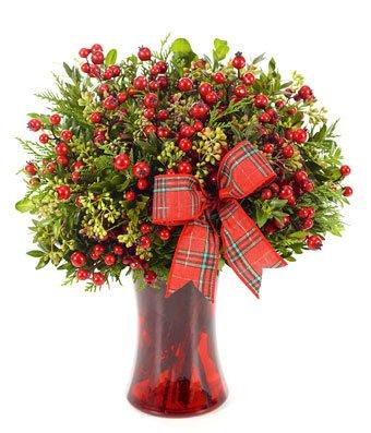 Christmas Holiday Flowers - eshopclub Same Day Christmas Flower Delivery - Online Christmas Flowers - Christmas Flowers Bouquets & Plants - Send Christmas Centerpiece by eshopclub