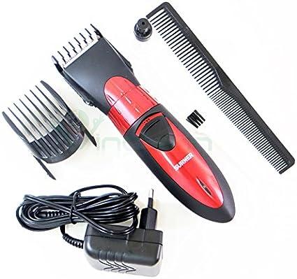 Rasuradora para barba, cabello, grande, negro Surker, impermeable, ajustable.: Amazon.es: Electrónica