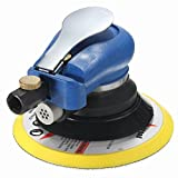 MagiDeal 6'' Air Random Orbital Sander Pneumatic Disc Polisher Grinding Sanding Tool (with Wrench)