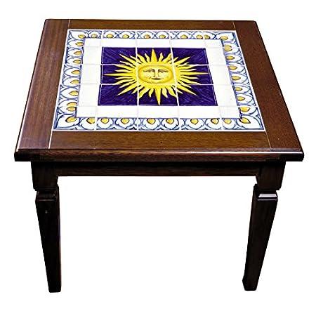 Tavolino da salotto e piano in piastrelle in ceramica artistica di ...