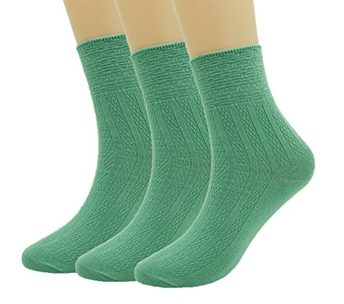 New 3 Pairs Woman's Combed cotton retro style Casual Socks, Light And Warm Design, Crew Socks 311 for sale
